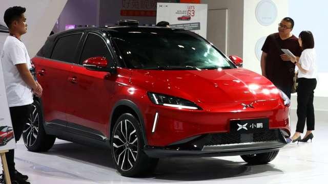 正式提交!中國電動車品牌小鵬汽車申請在美上市(圖片:AFP)