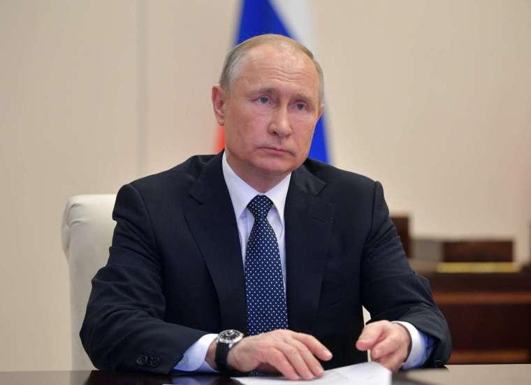 普丁宣布,俄國已註冊全球第一支疫苗「衛星五號」 (圖片:AFP)