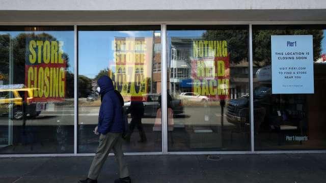 受疫情衝擊 美企破產潮恐創10年來新高(圖片:AFP)