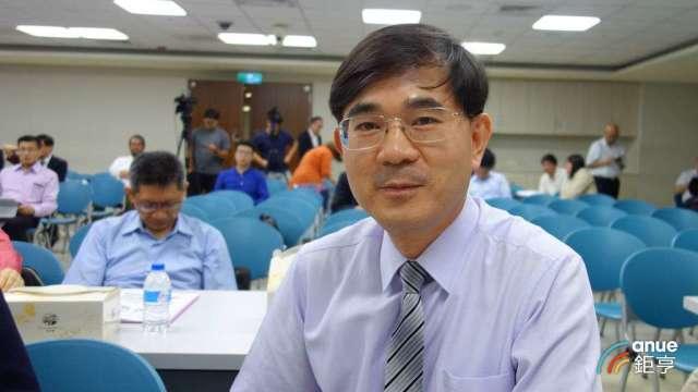 昇達科總經理吳東義。(鉅亨網記者張欽發攝)