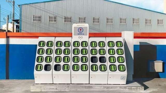 Gogoro取得最新中油標案中的110個站點。(圖:Gogoro提供)