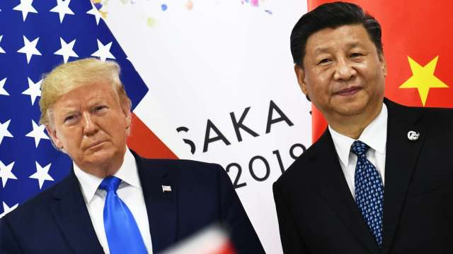 知情人士:中國擬將TikTok、微信議題納入中美貿談(圖片:AFP)