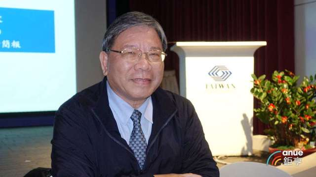 臻鼎-KY董事長沈慶芳。(鉅亨網記者張欽發攝)