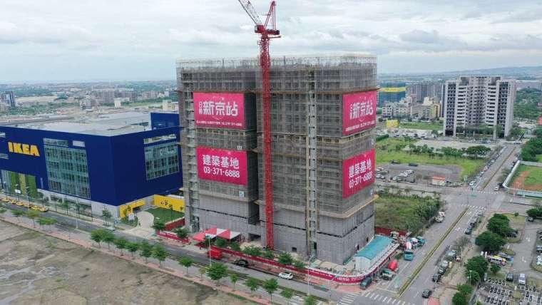 日勝生桃園青埔新建案推出銷售 4 個月 151 戶住宅全售出。(圖:日勝生提供)