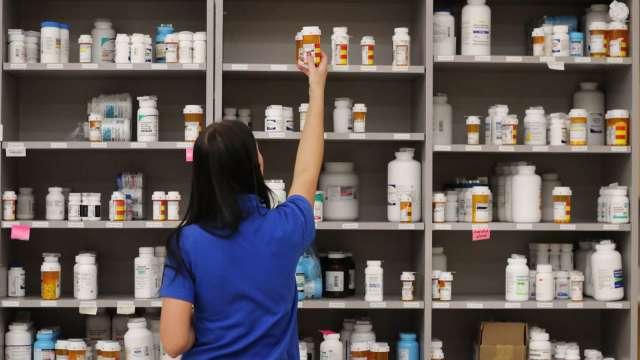 原料藥廠上半年獲利顯著成長 松瑞藥純益虧轉盈 每股賺0.42元 神隆EPS 0.25元。(圖:AFP)