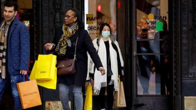 消費支出大幅放緩 美國7月零售銷售月增1.2% 低於預期  (圖:AFP)