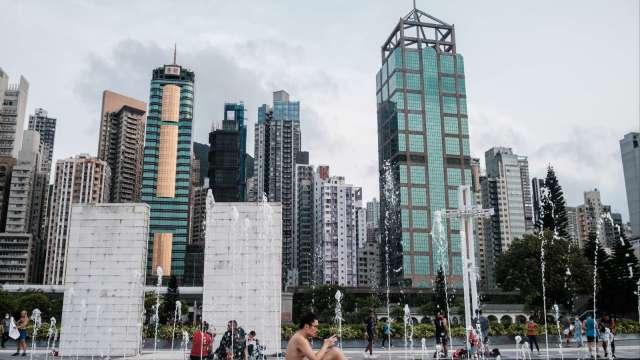 香港Q2 GDP年減9% 全年GDP估萎縮6%至8% (圖:AFP)