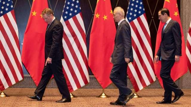 路透:美中臨時喊卡 8/15第一階段協議會談 (圖片:AFP)