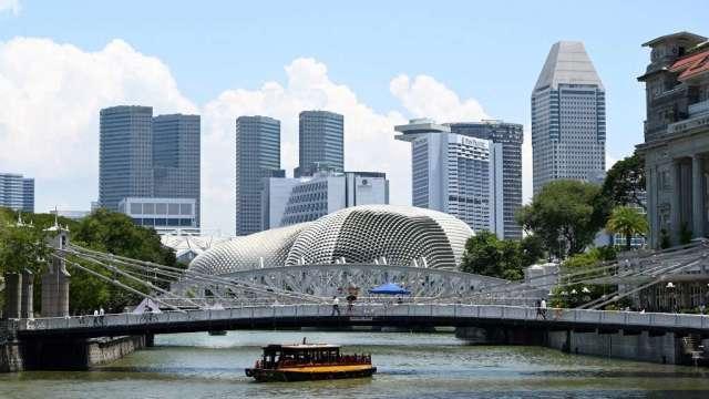 新加坡7月非石油出口年增6% 優於市場預期(圖:AFP)