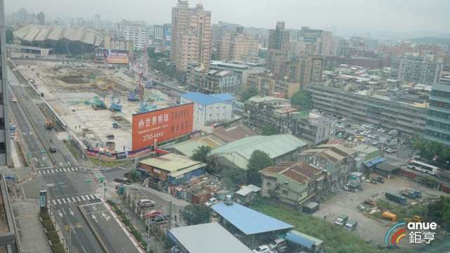 位於南港的「台北流行音樂中心」,周邊房價0.2%年漲幅。(鉅亨網記者張欽發攝)