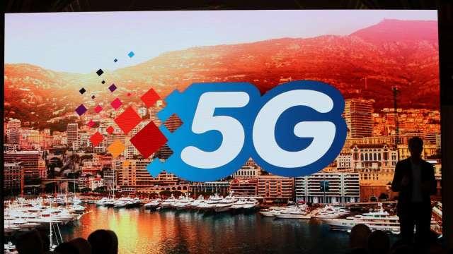 5G影響4G網速 中華電:建置5G基站將提前簡訊通知。(圖:AFP)