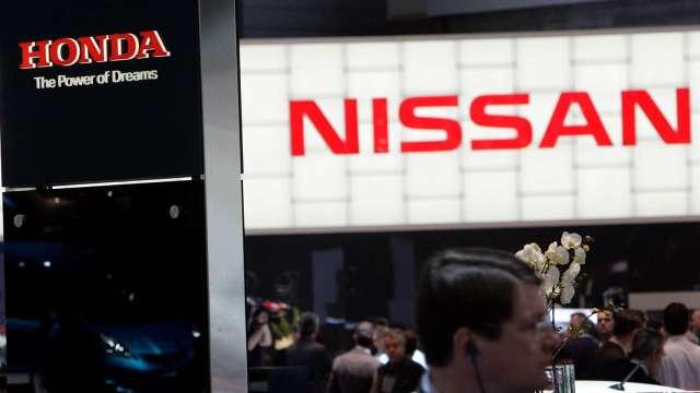 金融時報:日官員曾試圖撮合日產、本田經營統合 (圖片:AFP)