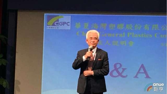 華夏副董事長林漢福。(鉅亨網資料照)