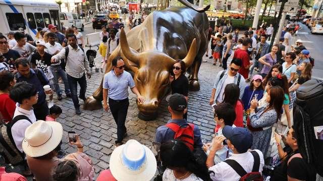 〈美股盤後〉歡賀新牛市!標普收復新冠失地 終刷歷史新高(圖片:AFP)