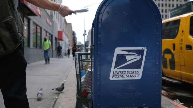 美郵政局做出關鍵決定 2020總統大選前暫停運作變更。(圖片:AFP)