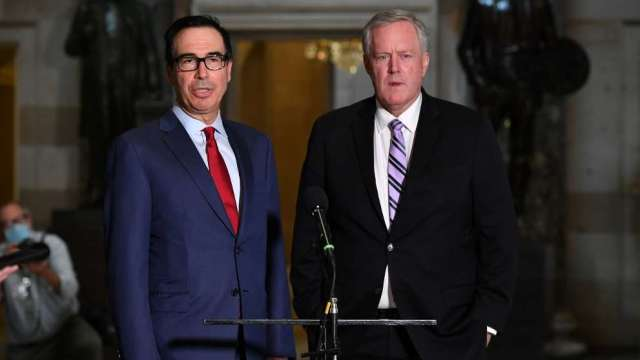 白宮幕僚長:未針對美中貿易談判重新安排日程(圖:AFP)