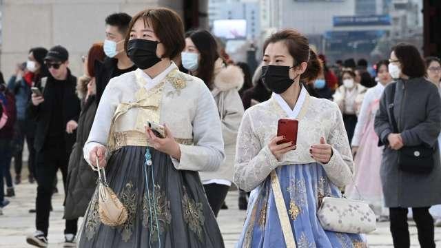 南韓新增確診飆升 9成集中首爾、憂擴大至全半島 (圖片:AFP)