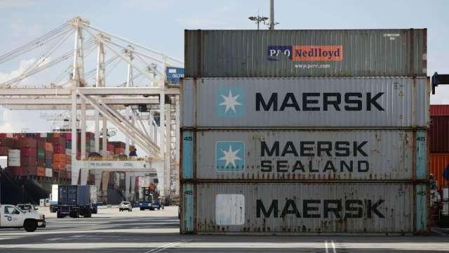 航運巨頭Maersk估貨運需求Q3回升 但看壞全年前景 (圖:AFP)