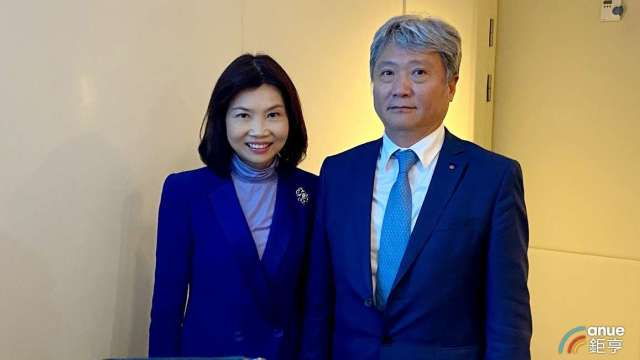 左為杏一董事長陳麗如,右為總經理蔡德忠。(鉅亨網資料照)