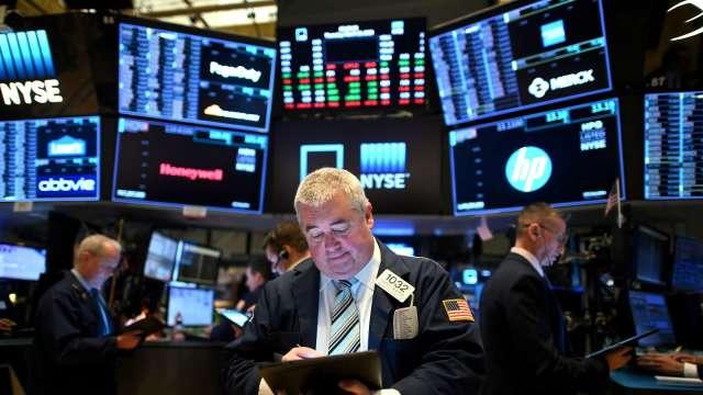 〈美股盤後〉美股逆轉翻黑!Fed會議紀要潑冷水 蘋果市值跌破2兆美元。(圖片:AFP)