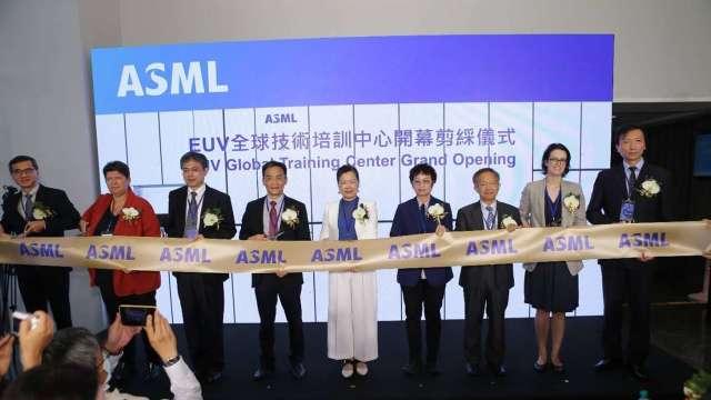 ASML 在南科設立「EUV (極紫外光)全球技術培訓中心」。(圖:ASML提供)