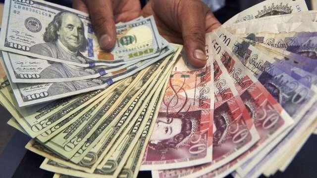〈紐約匯市〉科技股強漲 美元小幅走軟 英鎊持穩於1.31上方(圖片:AFP)