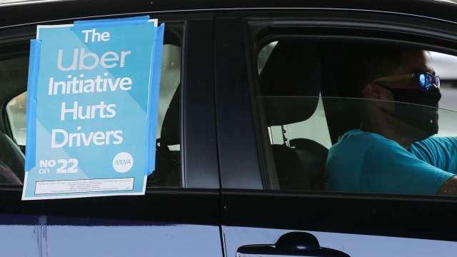 加州共乘業務不必暫停了!法院裁定Uber、Lyft上訴期間可照常運作(圖片:AFP)
