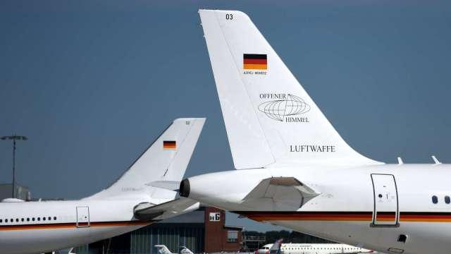 〈鉅亨看世界〉德國全新「空軍一號」(圖片:AFP)