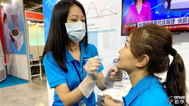 博錸新冠核酸檢測試劑 獲台專案製造許可。(鉅亨網資料照)