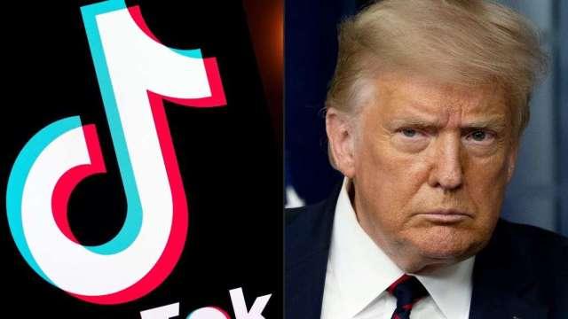 美國微信用戶狀告川普行政命令 TikTok證實將提訴(圖:AFP)