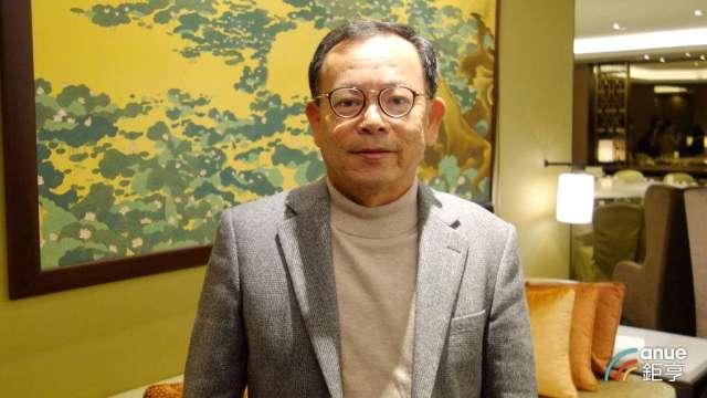 佳穎董事長林坡圳。(鉅亨網記者張欽發攝)