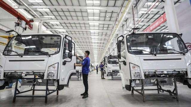 中系電動車近期加速擴張版圖,凡甲通吃二大廠訂單營運升溫。(示意圖:AFP)