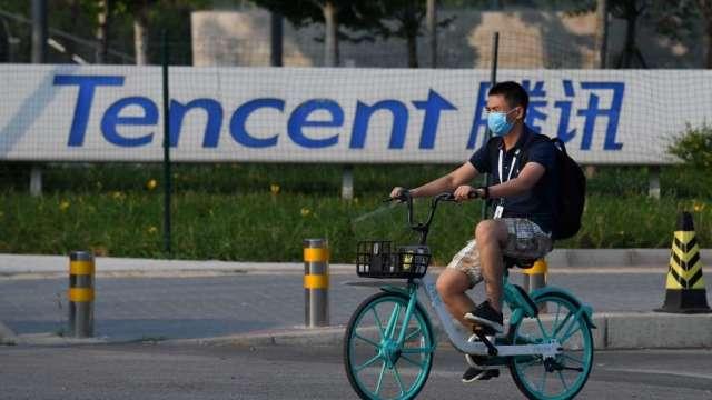 將樂游私有化 傳騰訊已接近達成協議(圖:AFP)