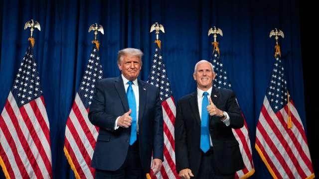 共和黨正式提名川普連任 分析師預測選後標普將下跌  (圖片:AFP)