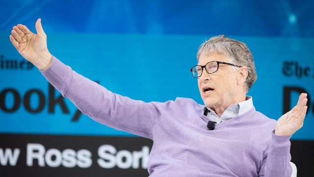 比爾蓋茲:我好忌妒天才賈伯斯。(圖片:AFP)