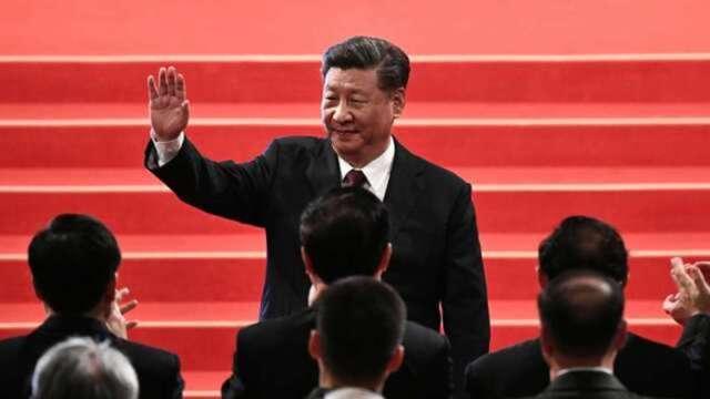 習近平: 中國正經歷動盪時期  將以內需帶動成長為方針(圖:AFP)