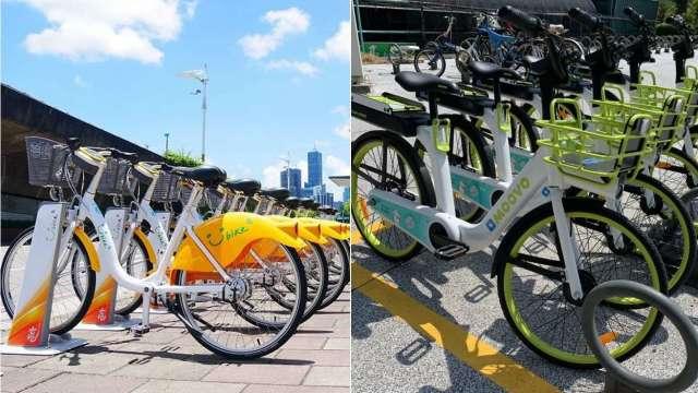 YouBike 2.0、MOOVO共享單車淘汰賽開戰 一文看懂雙北如何分道揚鑣。(圖:市政府提供)