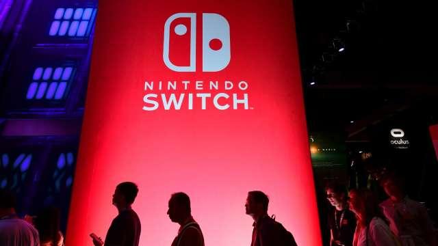 電玩市場年底熱鬧滾滾 任天堂傳推4K畫質Switch、更多遊戲 (圖片:AFP)