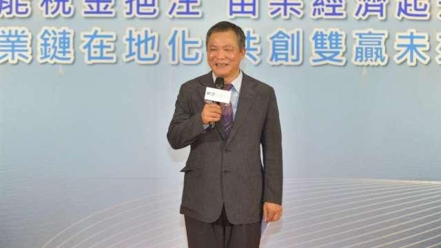 上緯投控董事長蔡朝陽。(圖:上緯提供)