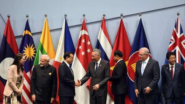視訊會議缺印度 RCEP仍力拼11月簽署 (圖:AFP)