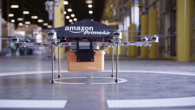 無人機宅配時代!FAA 批准亞馬遜 Prime Air快遞無人機 (圖片:亞馬遜官網)