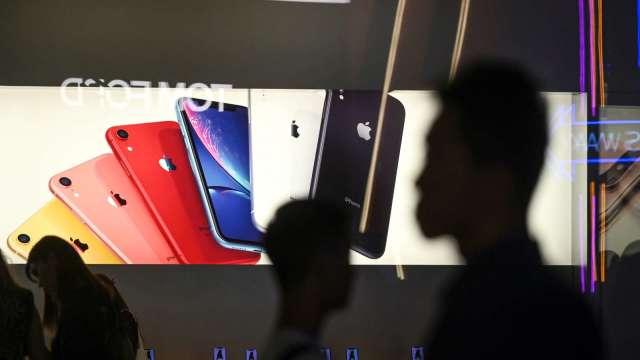 歐菲光的蘋果單轉去哪?傳藍思拿走大部份(圖片:AFP)