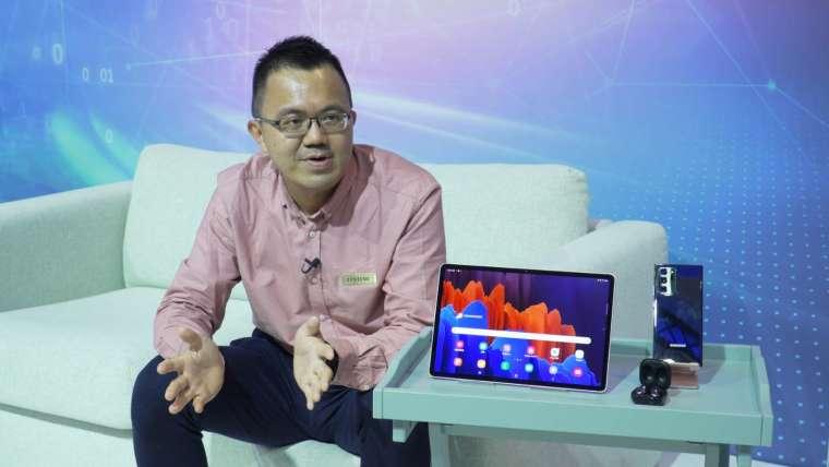 台灣三星電子行動與資訊事業部資深協理邱柏青