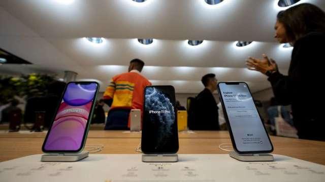 彭博:蘋果要求供應商至少生產7500萬支5G iPhone (圖:AFP)