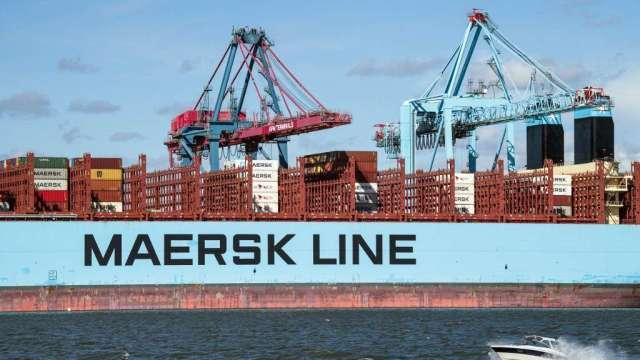 貨櫃航運龍頭馬士基將整併業務 並大規模裁員(圖:AFP)