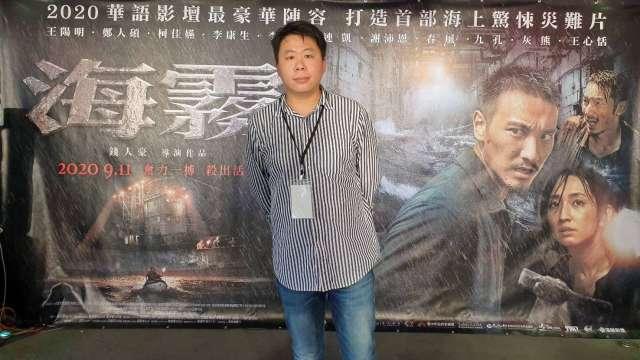 海樂影業董事長吳浩佑。(圖:海樂影業提供)