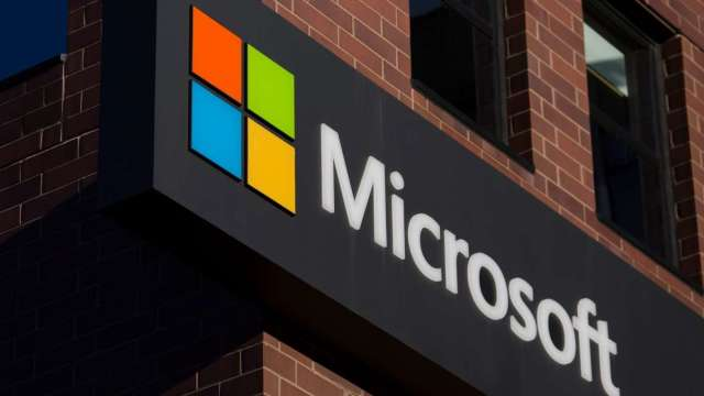 微軟和鴻海專利權利金官司 已達成和解 (圖:AFP)