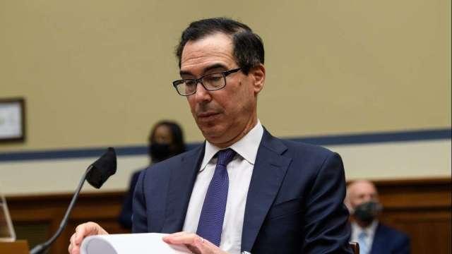 美財長、眾議院議長電話對談 對刺激方案規模仍未達共識(圖:AFP)