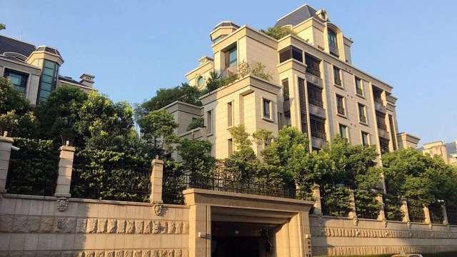 台北市天母區豪宅「天母一莊」。(圖:台灣房屋提供)