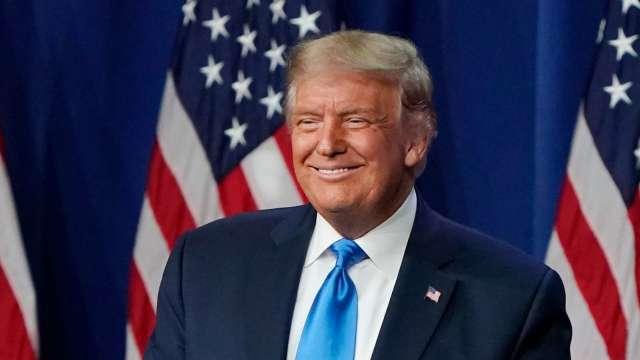 道瓊重返29000大關 !川普邀功:很幸運有我擔任總統 (圖片:AFP)